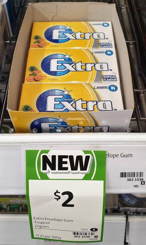 Extra 27g Gum Tropical
