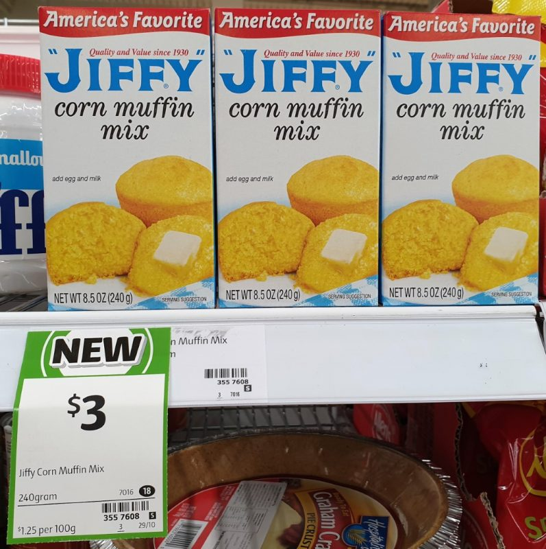 Jiffy 240g Mix Corn Muffin