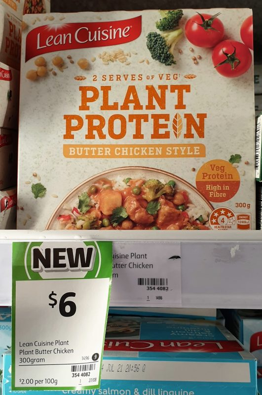 Lean Cuisine 300g Plant Protein Butter Chicken Style