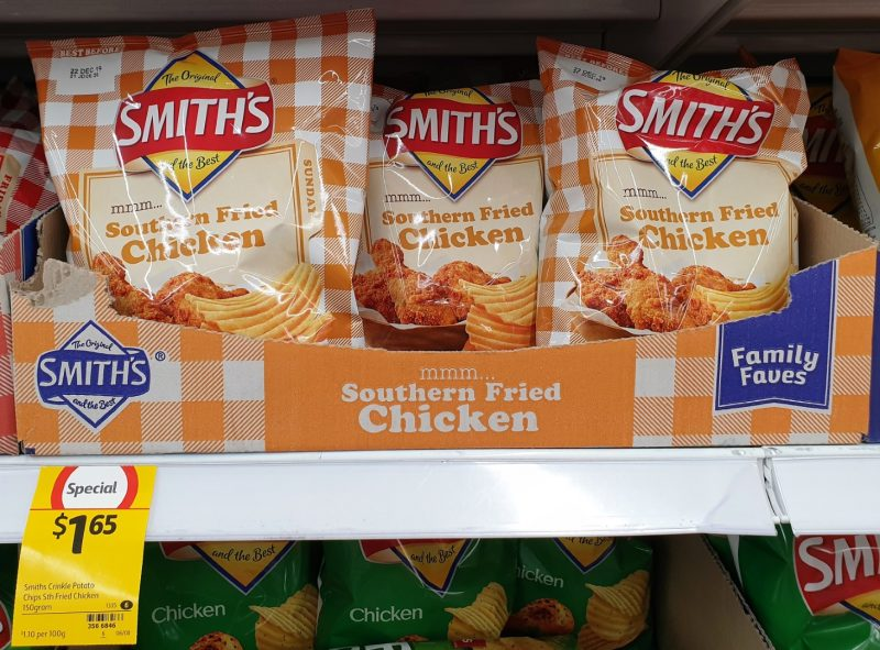 Smith's 150g Potato Chips Southern Fried Chicken
