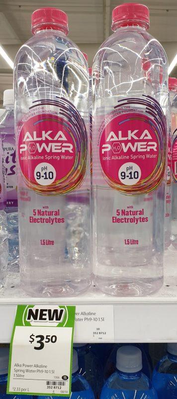 Alka Power 1.5L Spring Water Alkaline PH 9 10