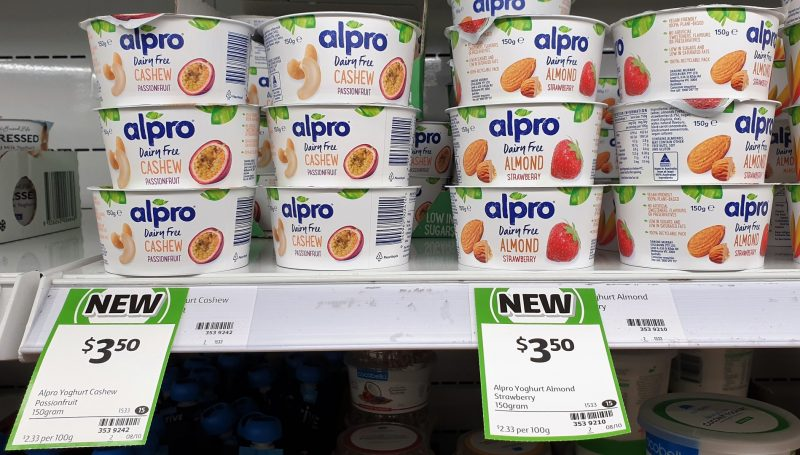 Alpro 150g Dairy Free Cashew Passionfruit, Almond Strawberry