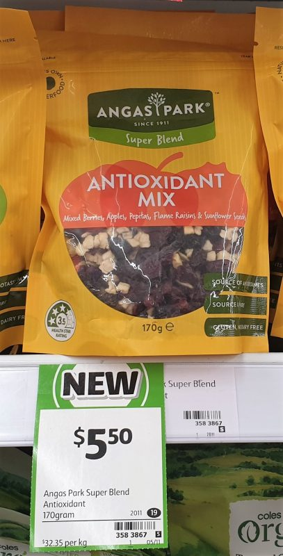 Angas Park 170g Super Blend Antioxidant Mix