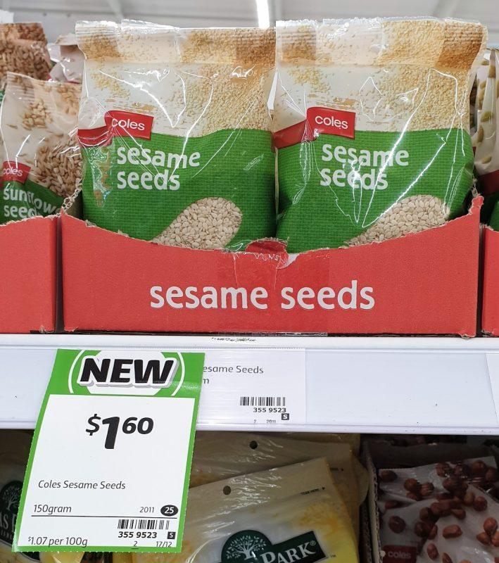 Coles 150g Sesame Seeds