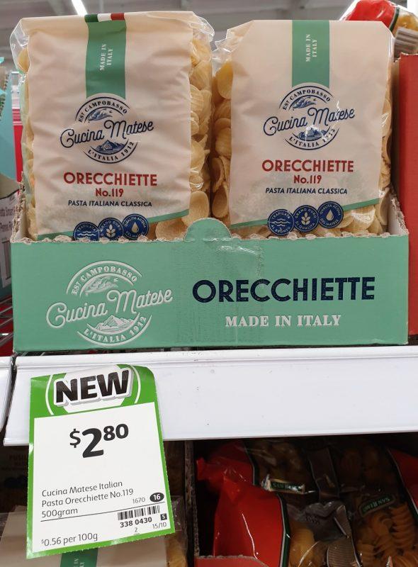 Cucina Matese 500g Pasta Orecchiette