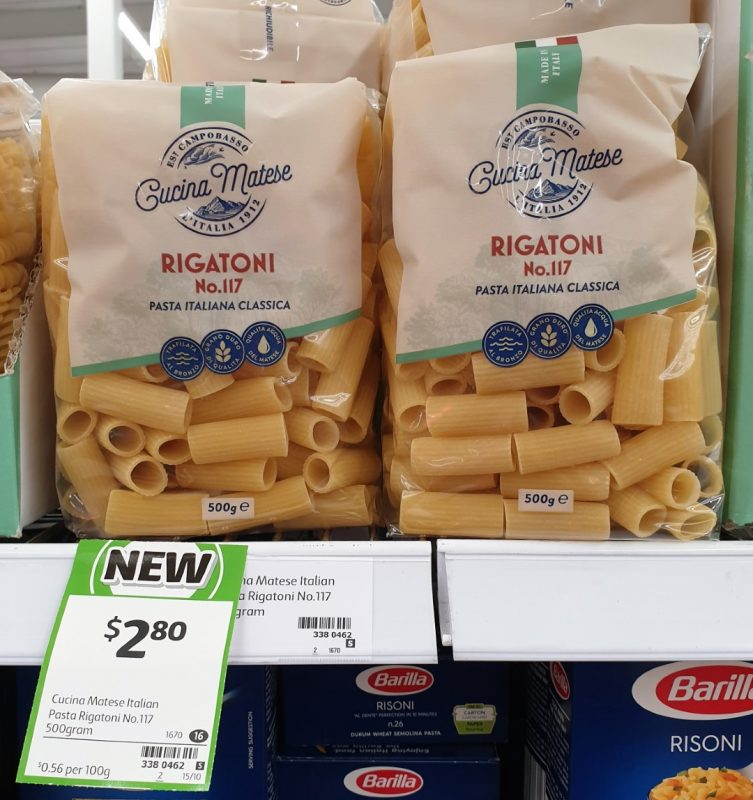 Cusina Matese 500g Pasta Rigatoni