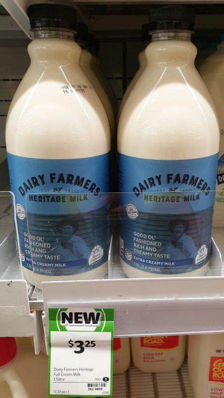Dairy Farmers 1.5L Milk Heritage
