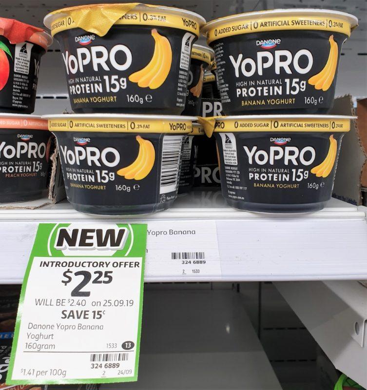 Danone 160g YoPRO Yoghurt Banana