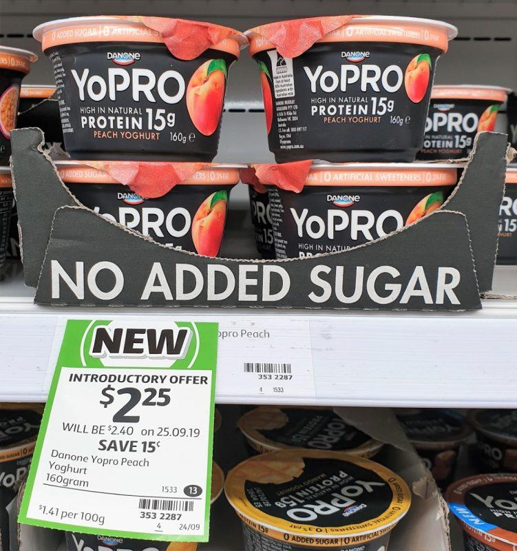 Danone 160g YoPRO Yoghurt Peach