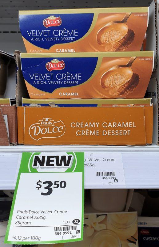 Dolce 170g Velvet Creme Caramel