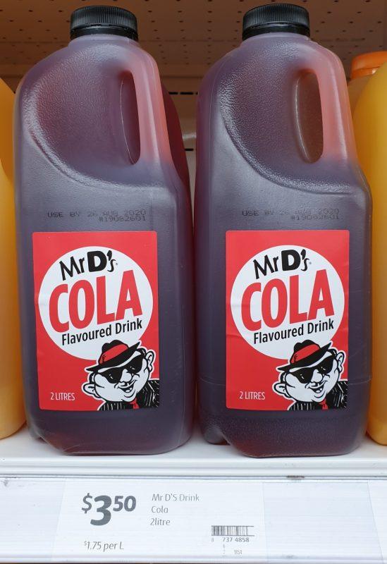 Mr D's 2L Flavoured Drink Cola