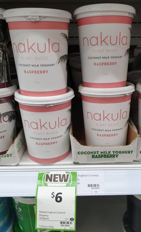 Nakula 500g Yoconut Coconut Milk Raspberry
