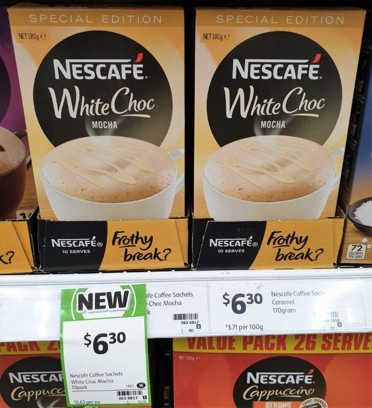Nescafe 180g Mocha White Choc Special Edition