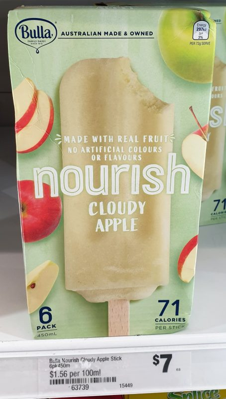 Bulla 450mL Nourish Cloudy Apple
