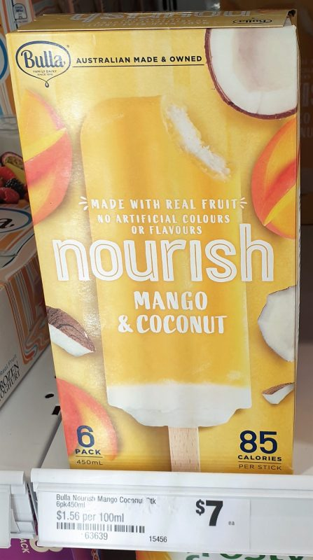 Bulla 450mL Nourish Mango & Coconut