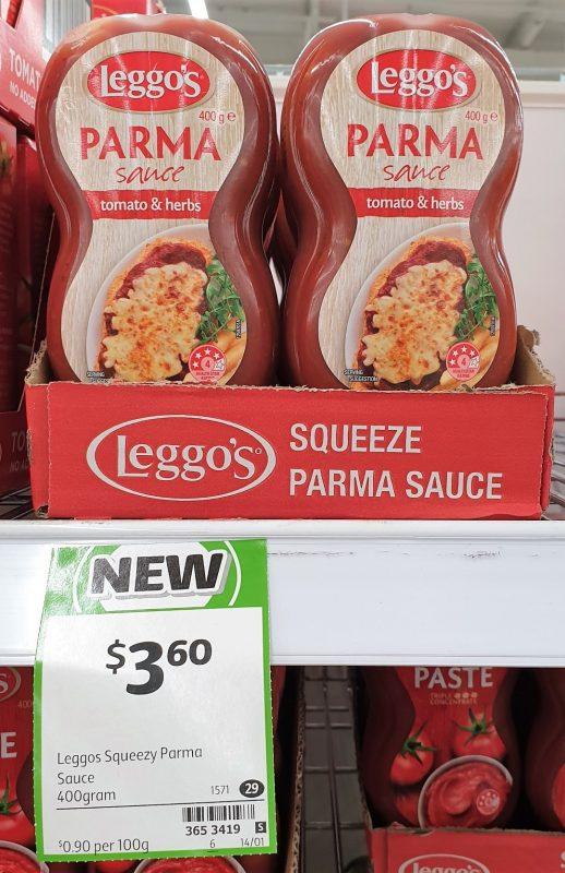 Leggo's 400g Sauce Parma Tomoato & Herbs