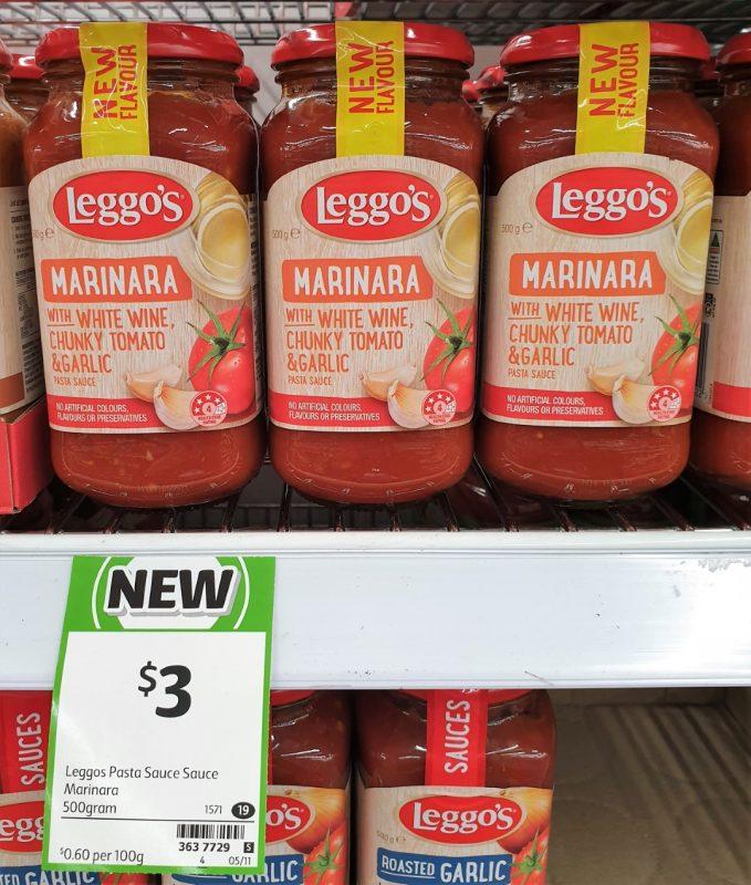 Leggo's 500g Pasta Sauce Marinara