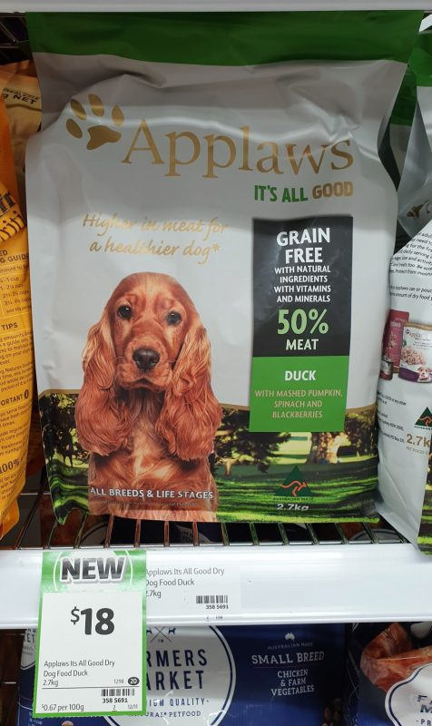 Applaws 2.7kg Dog Food Duck