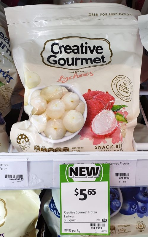 Creative Gourmet 300g Frozen Lychees