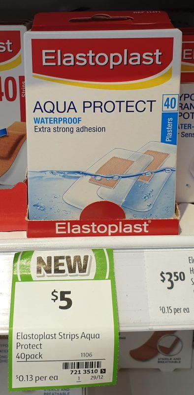 Elastoplast 40 Pack Plasters Aqua Protect Waterproof