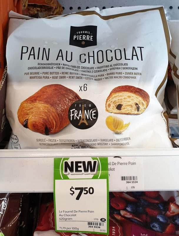 Fournil Pierre 420g Pain Au Chocolat