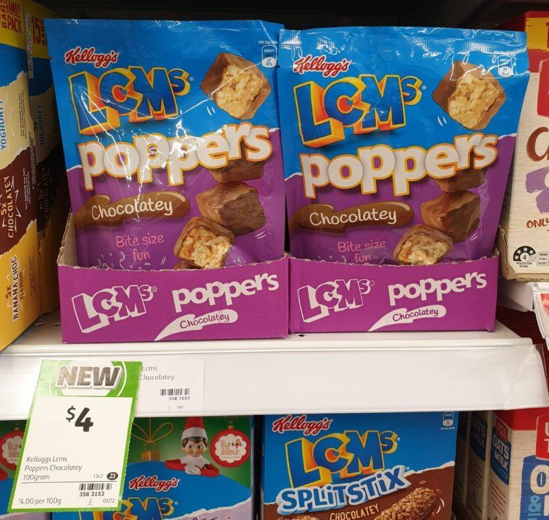 Kellogg's 100g LCM's Poppers Chocolatey
