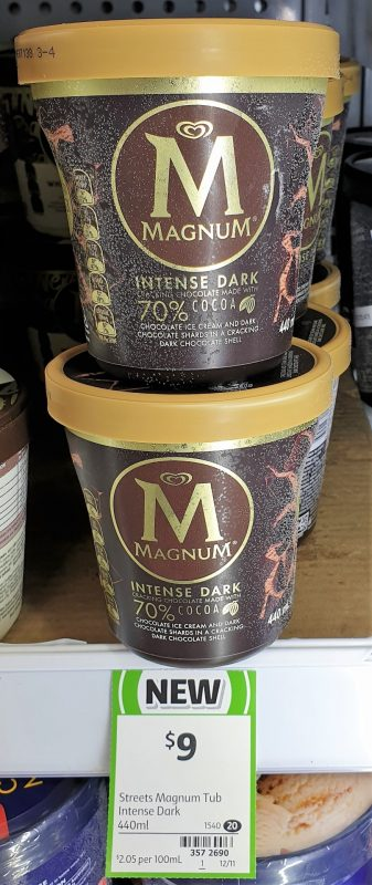 Magnum 440mL Intense Dark