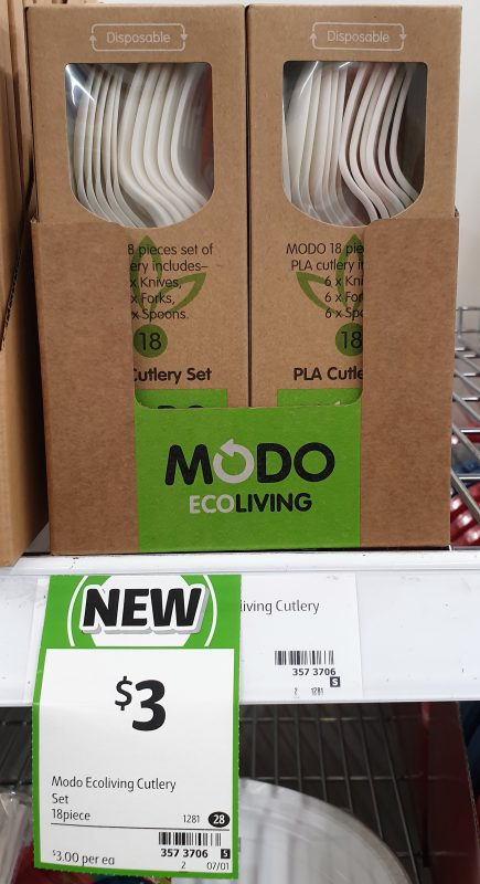 Modo Eco Living 18 Pack Cutlery Set