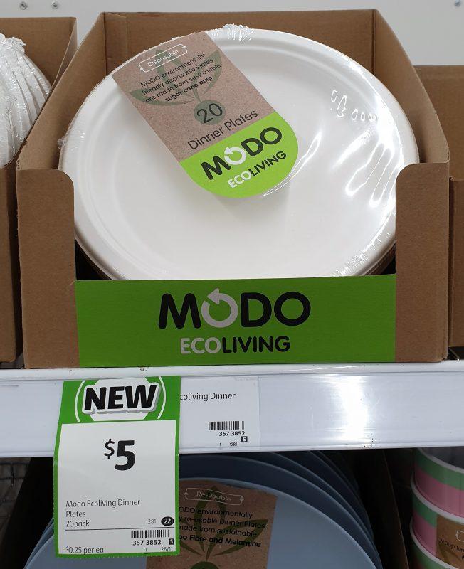 Modo Eco Living 20 Pack Plates Dinner