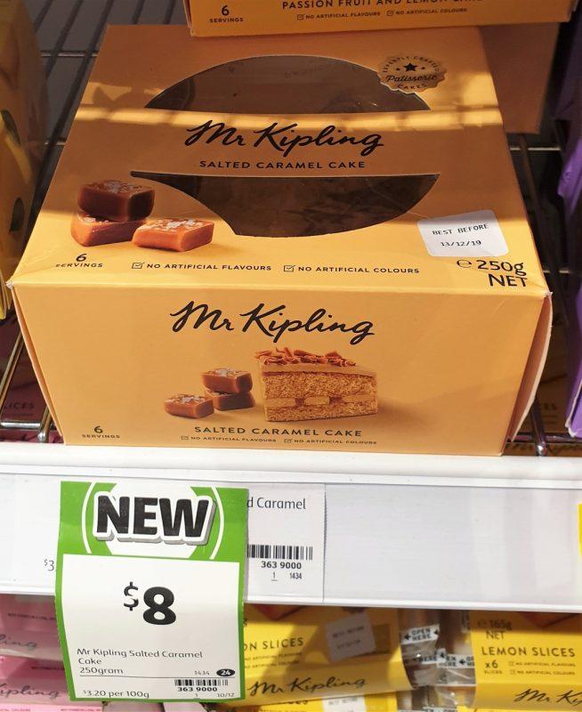 Mr Kipling 250g Cake Salted Caramel