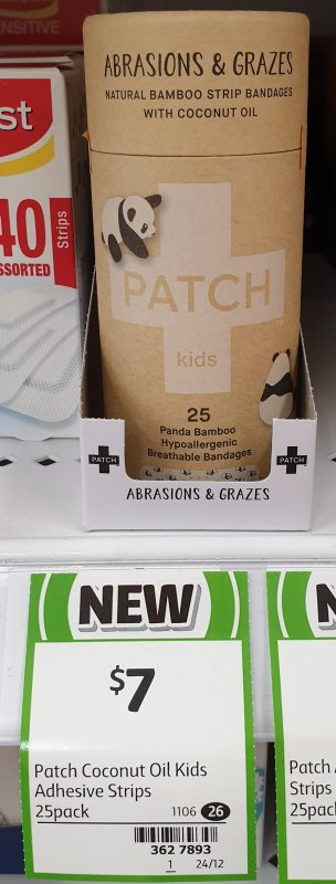 Patch 25 Pack Kids Bandages Panda Bamboo