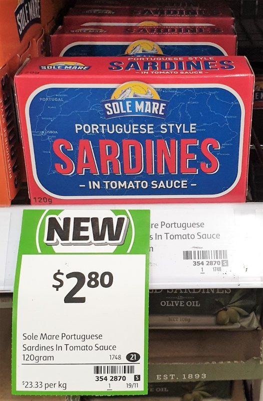 Sole Mare 120g Sardines In Tomato Sauce Portuguese Style