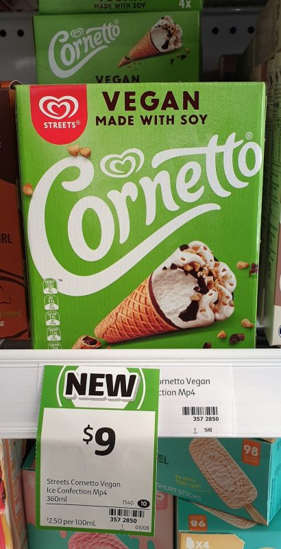 Streets 360mL Cornetto Vegan