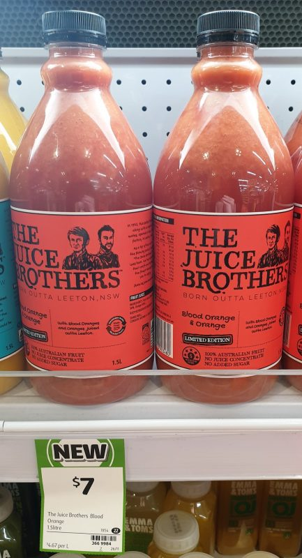 The Juice Brothers 1.5L Juice Blood Orange & Orange