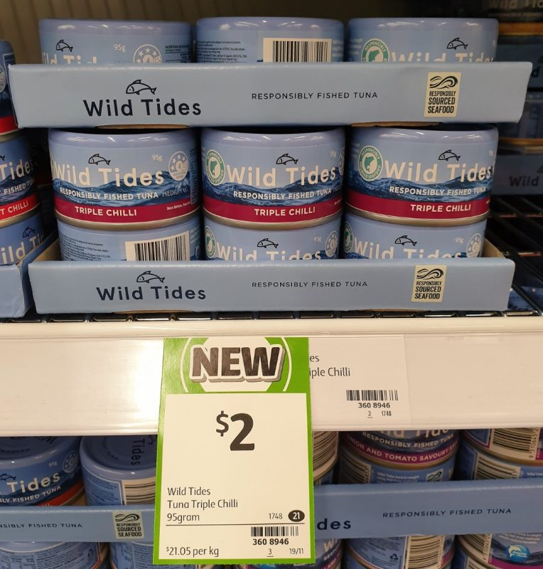 Wild Tides 95g Tuna Triple Chilli