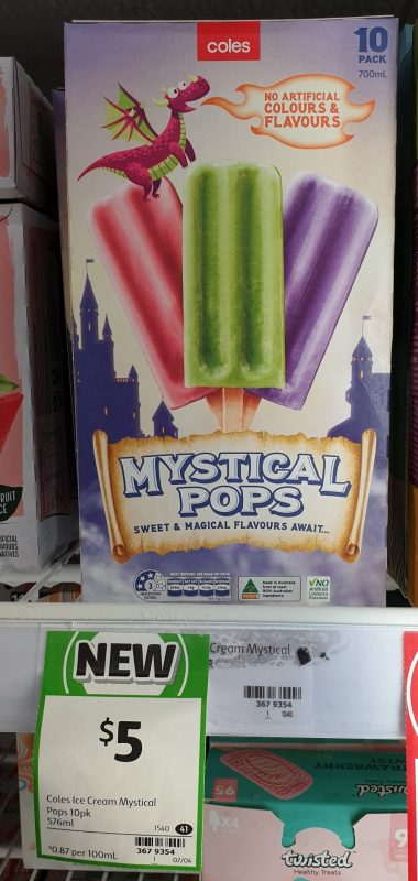 Coles 576mL Pops Mystical