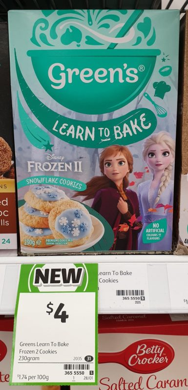 Green's 230g Learn To Bake Snowflake Cookies Frozen 2
