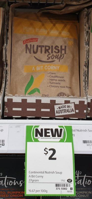 Continental 27g Nutrish Soup A Bit Corny