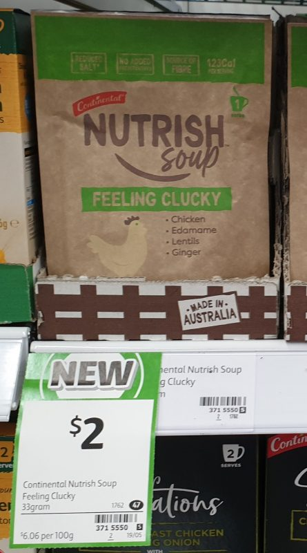 Continental 30g Nutrish Soup Feeling Clucky