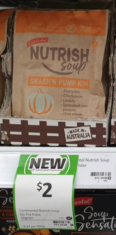 Continental 30g Nutrish Soup Smash'n Pump Kin