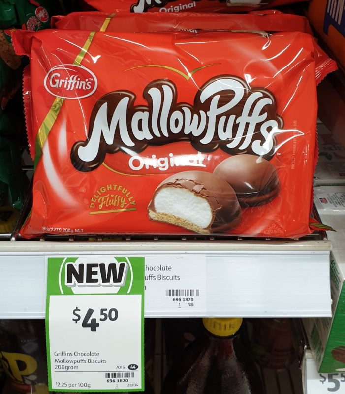 Griffin's 200g Mallow Puffs Original