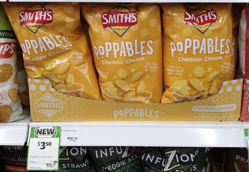Smith's 90g Poppables Cheddar Cheese