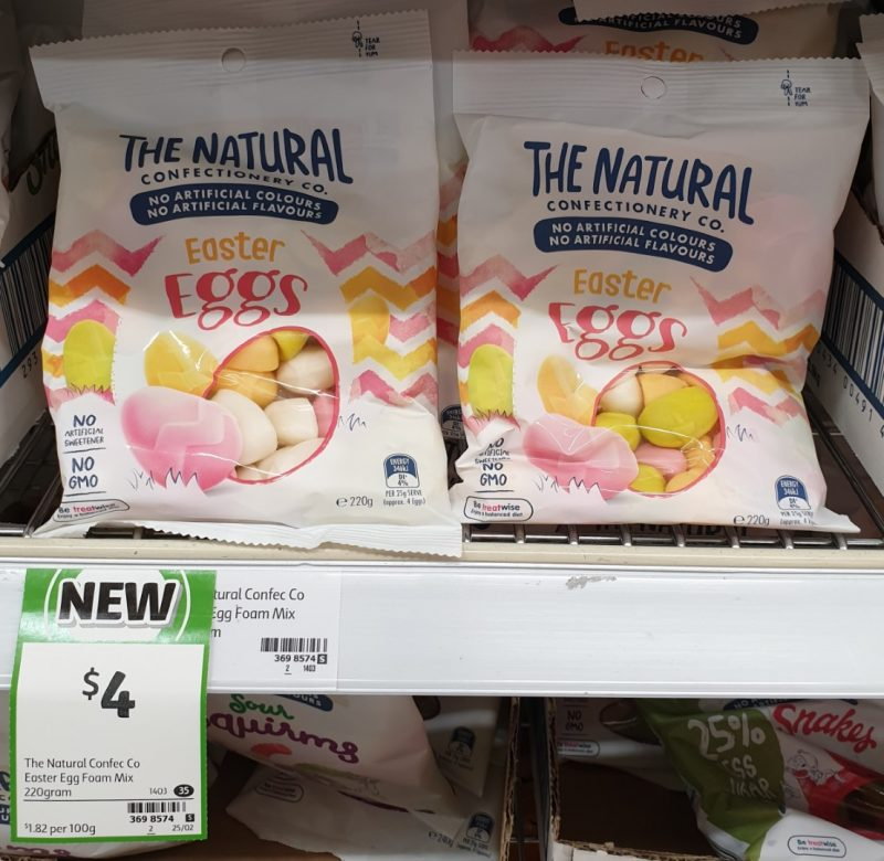 The Natural Confectionery Co 220g Easter Eggs