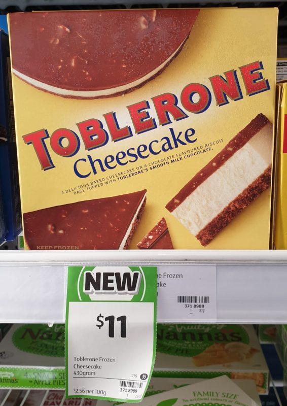 Toblerone 430g Cheesecake