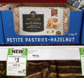 Always Fresh 110g Pastries Petite Hazelnut Filling