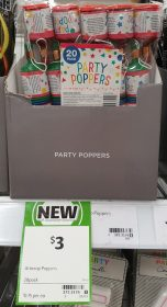 Artwrap 20 Pack Party Poppers