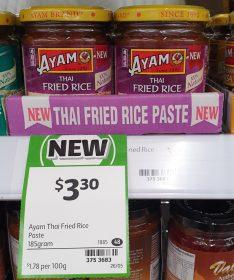 Ayam 185g Paste Thai Fried Rice