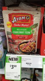 Ayam 205g Hawker Market Sauce Stir Fry Malaysian Char Kway Teow
