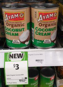 Ayam 400mL Coconut Cream Organic