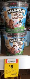 Ben & Jerry's 458mL Ice Cream Chip Happens